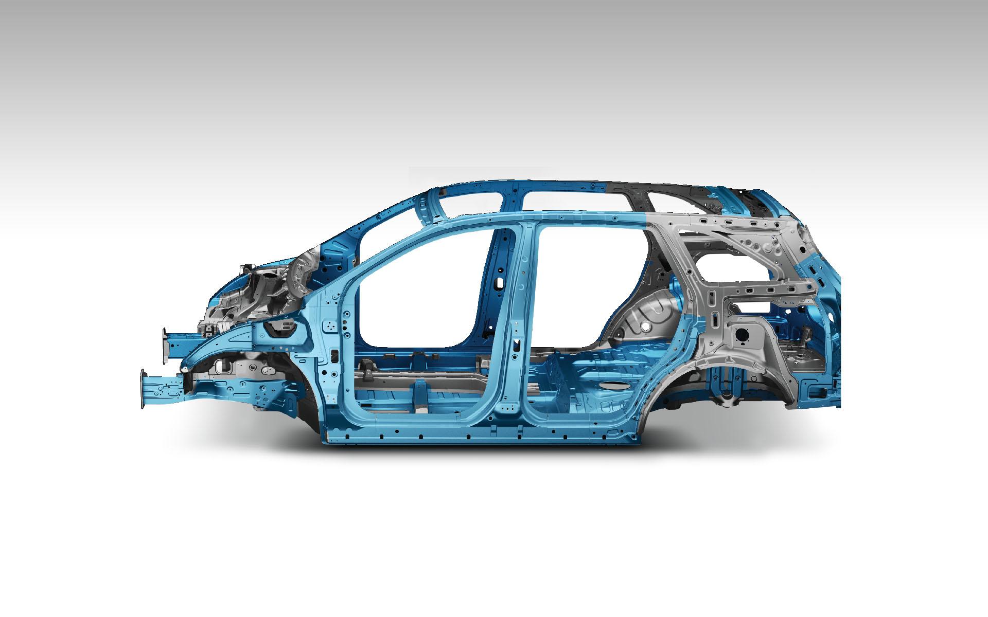 بدنه با فولاد مقاوم (AHSS)